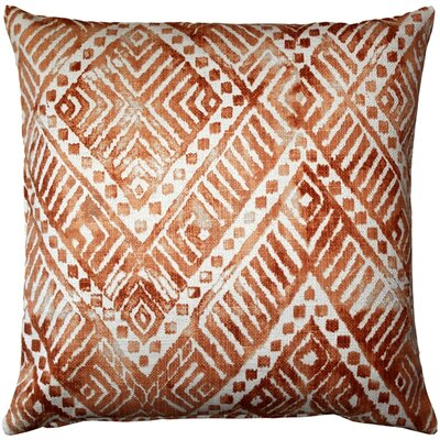 Forrest Throw Pillow Color: Orange