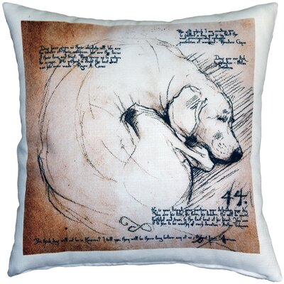 Napoli Dogs Indoor/Outdoor Throw Pillow