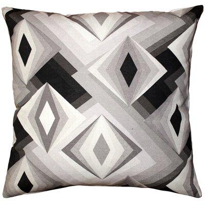 Asscher Cut Cotton Throw Pillow Size: 17 H x 17 W x 5 D