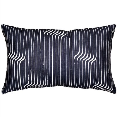 Gene Shockwave Linen Lumbar Pillow