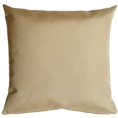 Londyn Outdoor Sunbrella Throw Pillow Color: Antique Beige