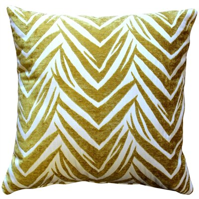 Higgins Throw Pillow Color: Yellow