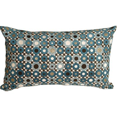 Pompey Spheres Lumbar Pillow Color: Blue