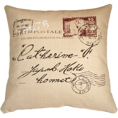 1907 Airmail Throw Pillow