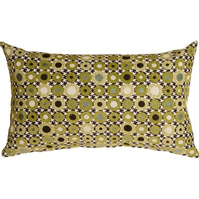 Kinley Spheres Rectangular Lumbar Pillow Color: Green
