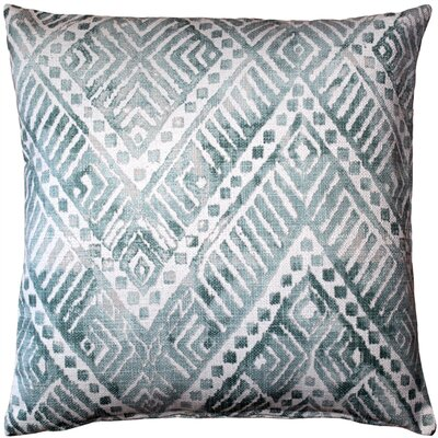 Forrest Throw Pillow Color: Blue