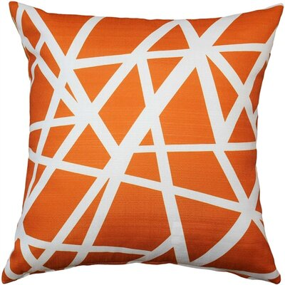 Vanbrunt Indoor/Outdoor Throw Pillow Color: Orange