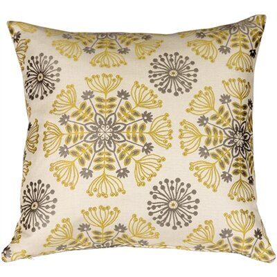 Waverly Kaleidoscope Throw Pillow Color: Sterling