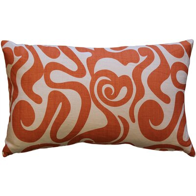 Vanderford Swirl Linen Lumbar Pillow