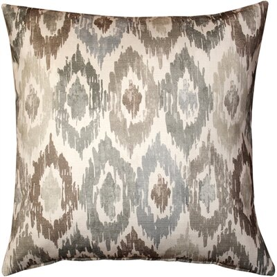 Valverde Sand Cotton Throw Pillow