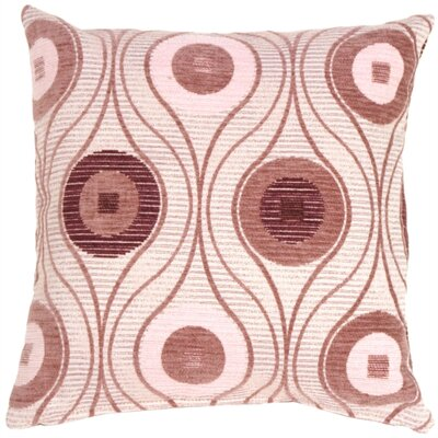 Gosnold Throw Pillow Color: Mauves