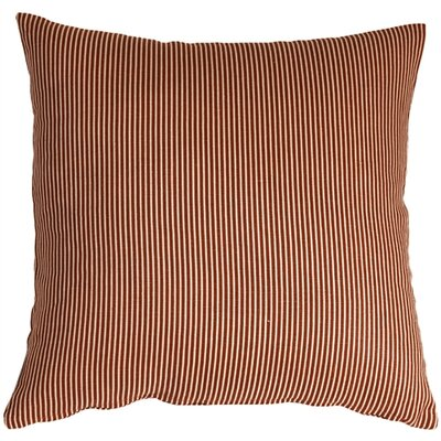 Alexandrina Linen Throw Pillow Size: 15 H x 15 W x 4 D, Color: Sienna