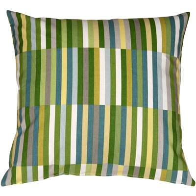 Waverly Side Step Cotton Throw Pillow Color: Marine