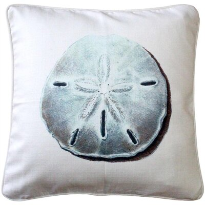 Ponte Vedra Sand Dollar Throw Pillow
