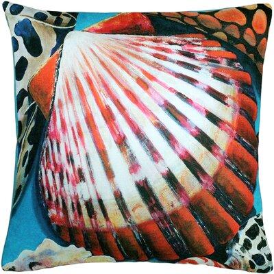 Newport Beach Bay Scallop Mix Throw Pillow