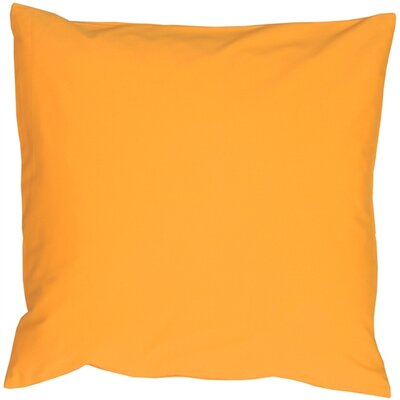 Alarick Cotton Throw Pillow Size: 16 H x 16 W x 5 D, Color: Amber Yellow