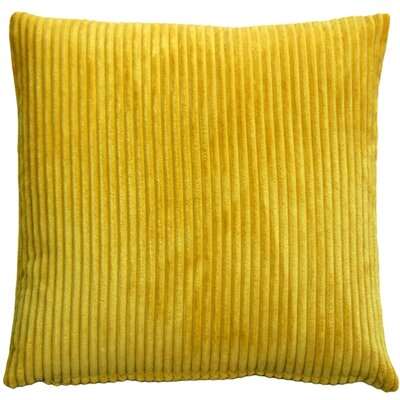 Luciana Throw Pillow Size: 18 H x 18 W x 5 D, Color: Yellow