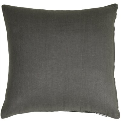 Newsome Linen Throw Pillow Size: 17 H x 17 W x 5 D, Color: Elephant Gray