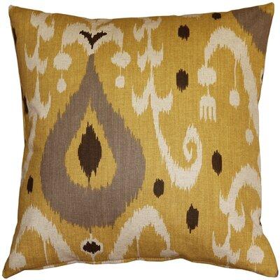Vanauken Throw Pillow Color: Yellow