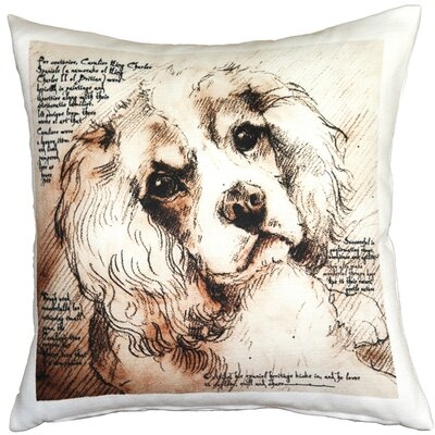 Cathkin Cavalier King Charles Spaniel Dog Indoor/Outdoor Throw Pillow