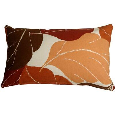 Medford Lumbar Pillow Color: Red