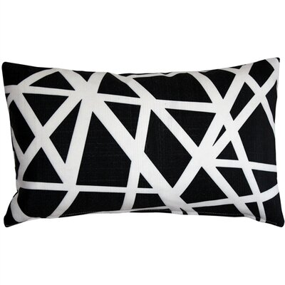 Vanbrunt Indoor/Outdoor Lumbar Pillow Color: Black