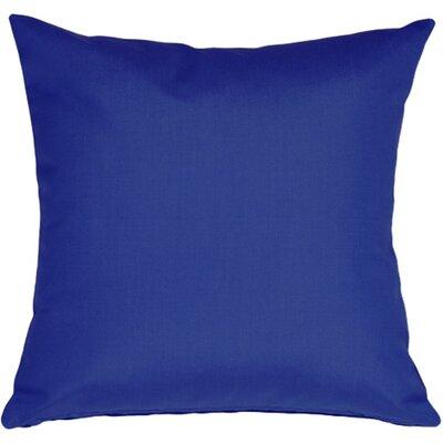 Londyn Outdoor Sunbrella Throw Pillow Color: True Blue