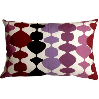 Vanatta Lumbar Pillow Color: Purple