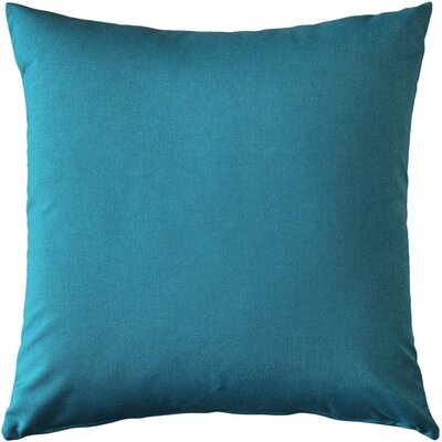Londyn Outdoor Sunbrella Throw Pillow Color: Peacock