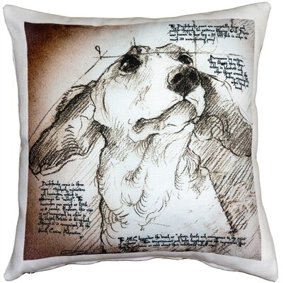 Cattalina Dachshund Dog Indoor/Outdoor Throw Pillow