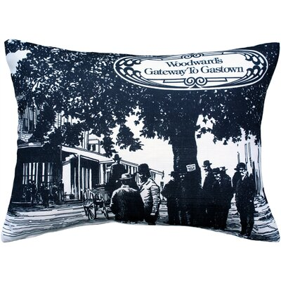 Cherryford Woodwards Gateway to Gastown Lumbar Pillow