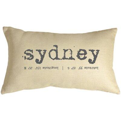 Sydney Coordinates Linen Lumbar Pillow
