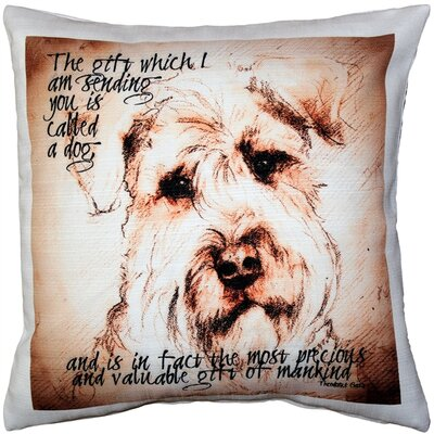 Casurina Gift to Mankind Throw Pillow