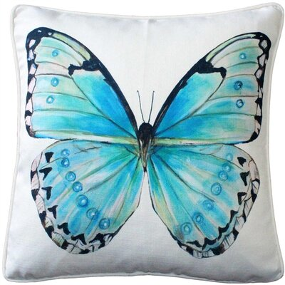 Moravia Butterfly Throw Pillow