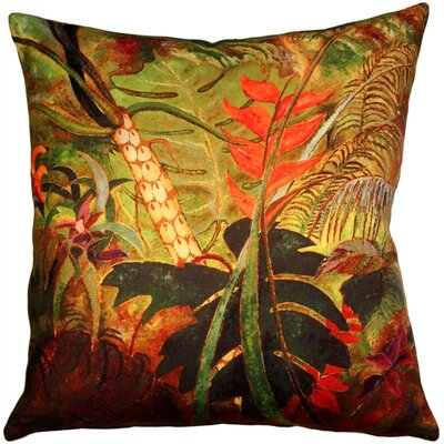 Exotic Flowers Indoor/Outdoor Throw Pillow
