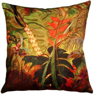 Huber Flowers Indoor/Outdoor Throw Pillow