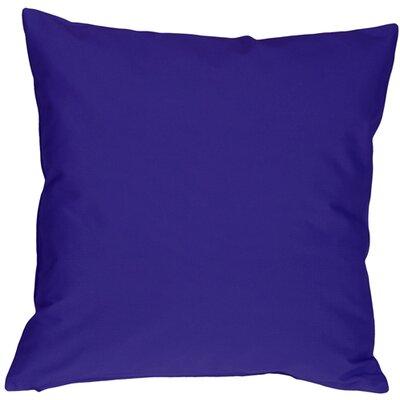 Caravan Cotton Throw Pillow Size: 16 H x 16 W x 5 D, Color: Royal Blue