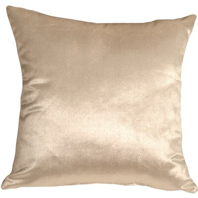 Renna Throw Pillow Size: 20 H x 20 W x 6 D, Color: Cream
