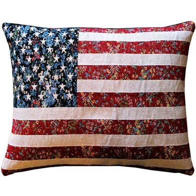 Dorsey United States Flag Lumbar Pillow
