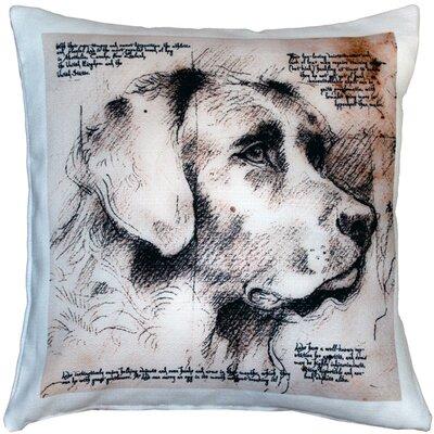 Labrador Dog Indoor/Outdoor Throw Pillow