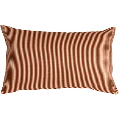 Alexandrina Linen Lumbar Pillow Color: Sienna