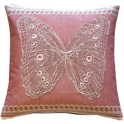 Dorset Lace Butterfly Throw Pillow