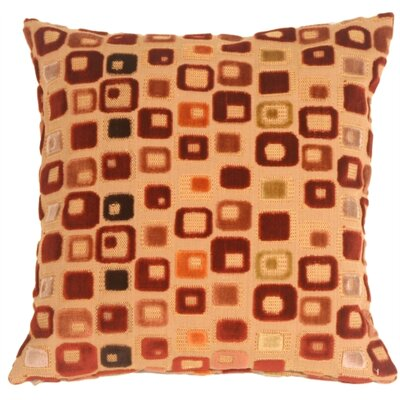 Window Box Throw Pillow Color: Red Wine