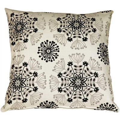 Washingtonville Kaleidoscope Throw Pillow Color: Tuxedo