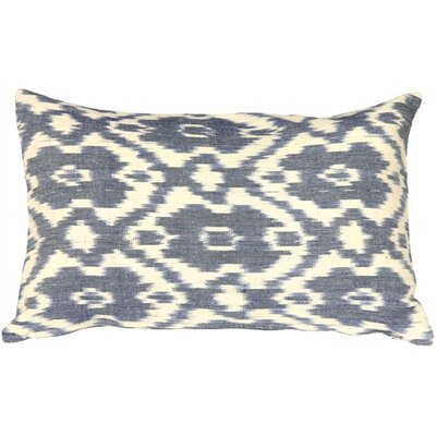 Euan Ikat Cotton Lumbar Pillow