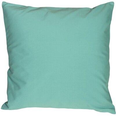Caravan Cotton Throw Pillow Size: 20 H x 20 W x 6 D, Color: Turquoise