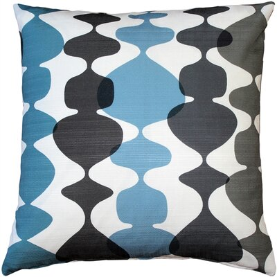 Westmore Indoor/Outdoor Throw Pillow Color: Charcoal/Cream