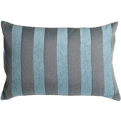 Boutin Stripes Rectangular Lumbar Pillow Color: Sea Blue