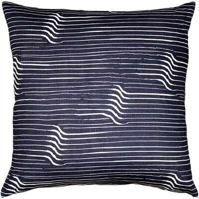 Gene Shockwave Linen Throw Pillow