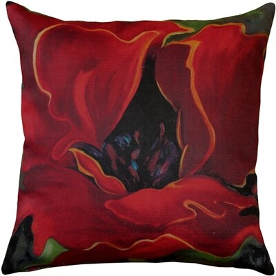 Hubbard Contemporary Indoor/Outdoor Throw Pillow